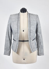 You're The Worst: Light Grey Blazer by H&M