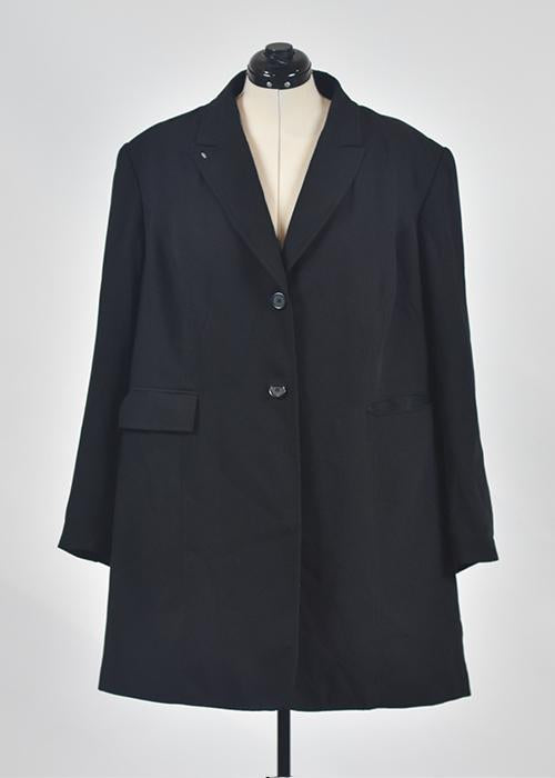 You're The Worst: Black Coat by Style & Co-2