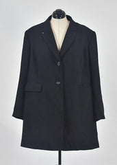 You're The Worst: Black Coat by Style & Co