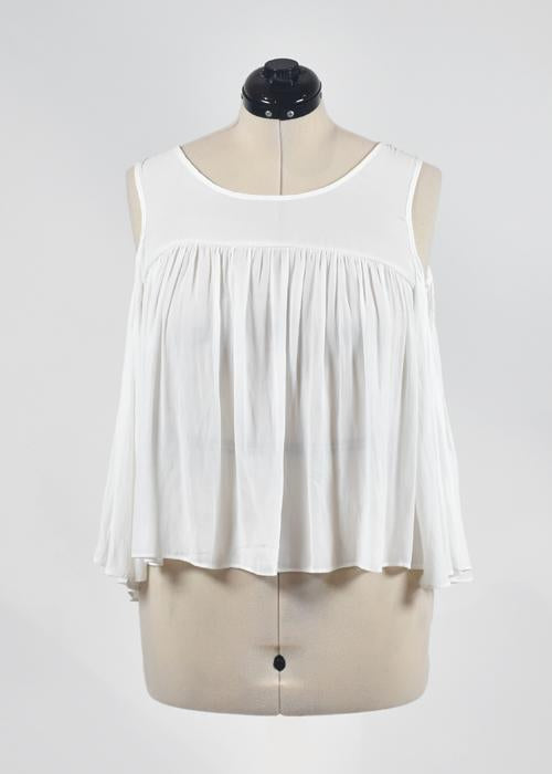 You're The Worst: White Top by Forever 21-2