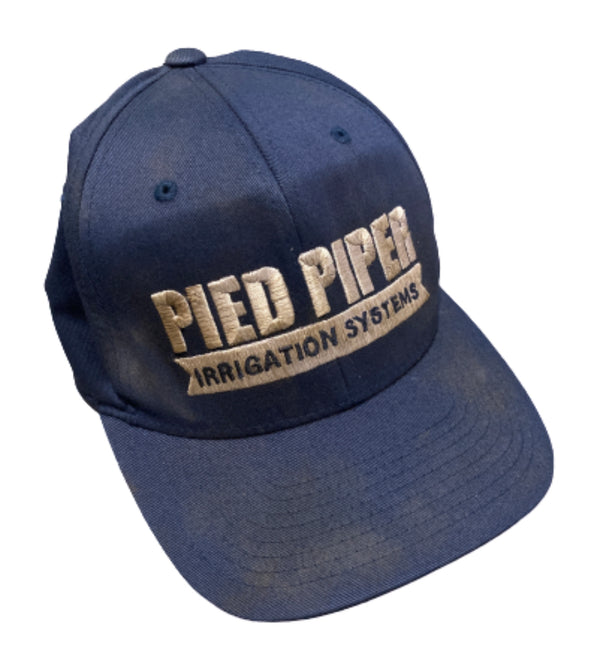 SILICON VALLEY: Erlich's Navy Blue Pied Piper Irrigation Systems Hat-1