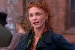 Screenbid Media Company, LLC. - Gangs of New York: Jenny's Green and Brown Brushed Blouse