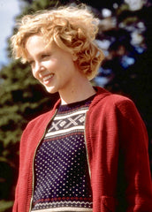 The Cider House Rules: Candy's Burgundy Sweater