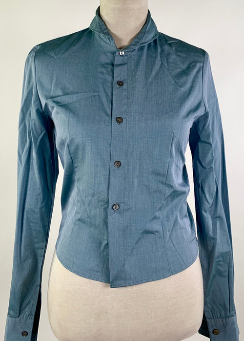 Screenbid Media Company, LLC. - Kate and Leopold: Kate's Scene 23 Light Tan Coat & Blue Blouse
