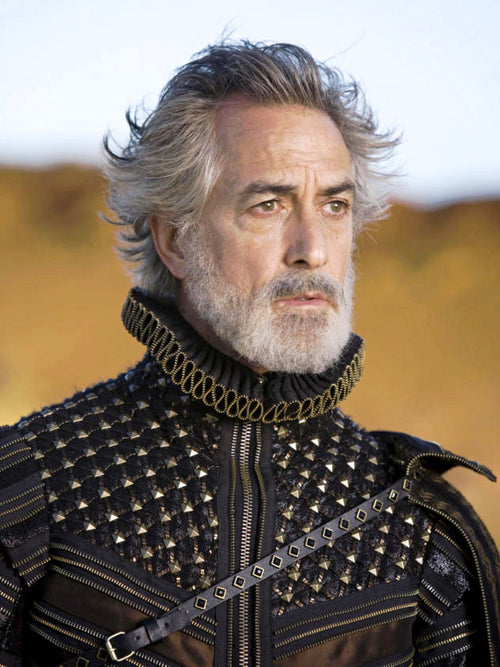 Screenbid Media Company, LLC. - The Tempest: Prospero's Duke of Milan HERO Black Coat and Collar