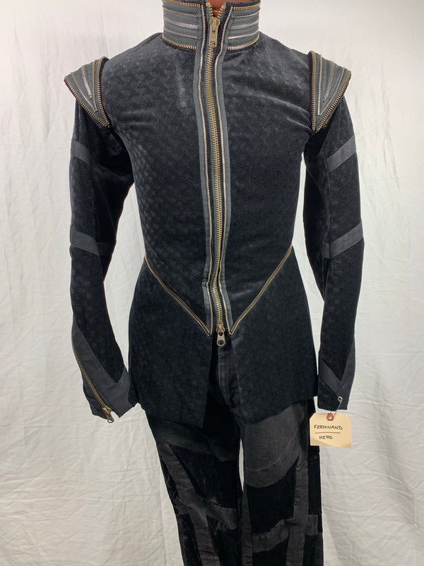 The Tempest: Prince Ferdinand's HERO Black Jacket and Pants-3