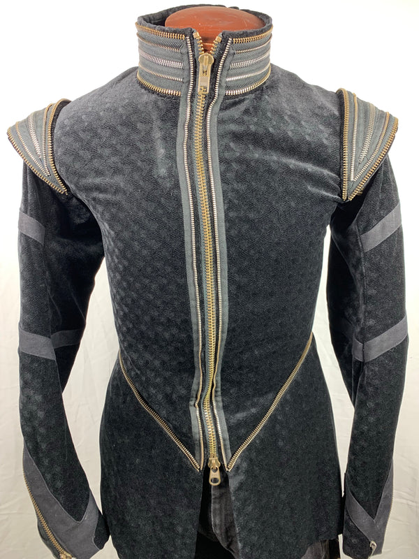 The Tempest: Prince Ferdinand's HERO Black Jacket and Pants-4