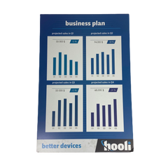 SILICON VALLEY: Hooli Business Plan Poster