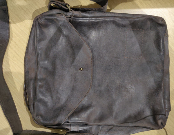 Gone Baby Gone: Angie's Leather Satchel-1