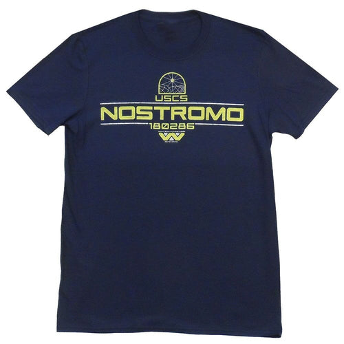 "Screenbid Media Company, LLC. - Alien ""USCS Nostromo"" Men's T-Shirt Large"