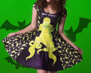 "Screenbid Media Company, LLC. - The Simpsons ""Happy Haunting Princess"" Dress One Size"