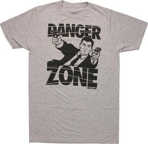 "Screenbid Media Company, LLC. - Archer ""Danger Zone"" Men's T-Shirt Medium"