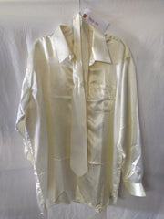 The Get Down: Daniel Ellissa Silk Cream Colored Shirt
