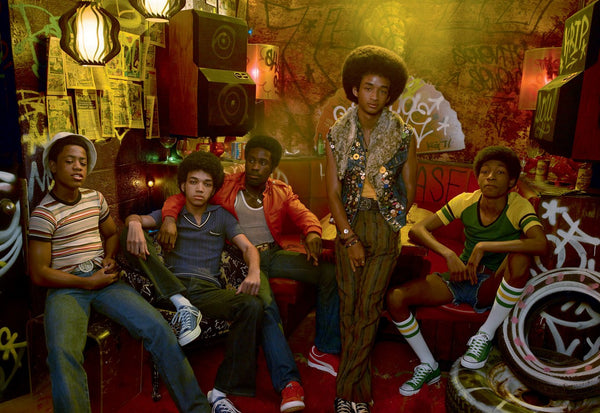 The Get Down - Converse Low Top-1