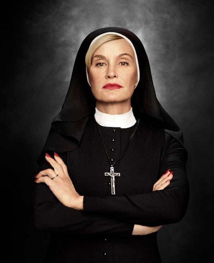 American Horror Story Asylum: Sister Jude's HERO Christmas Records Collection