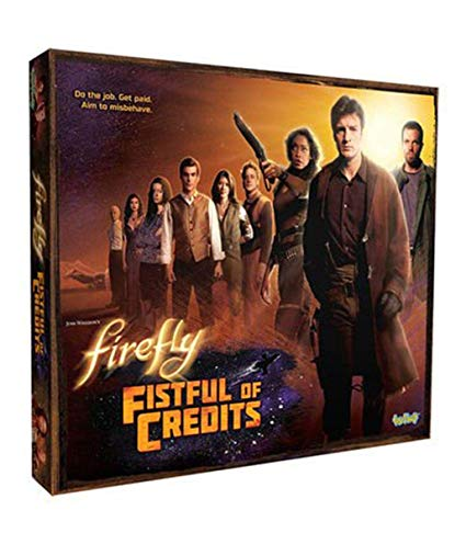 Firefly: Fistful of Credits Board Game-1