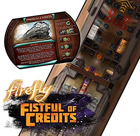 Firefly: Fistful of Credits Board Game-2