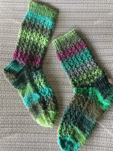 Boot Socks - Handknit Organic Wool