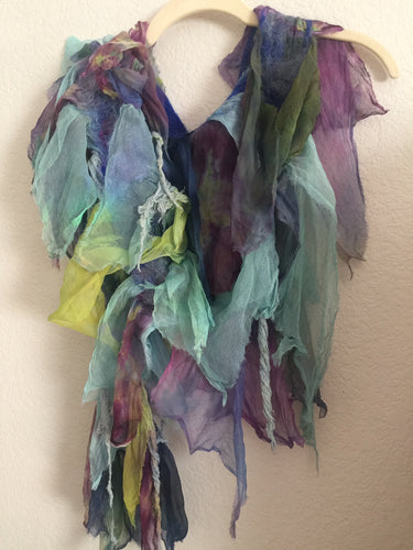 Silk Scarf: Big Sur