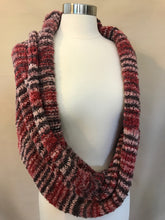 Infiniti Shoulder Wrap - Muted Reds, Blues, Cream