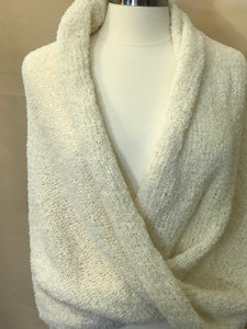 Infiniti Shoulder Wrap -  Cream - Medium Weight