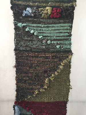 Color Study I - The Story of Anne's Family History Woven Into My FIrst Rag Tapestry