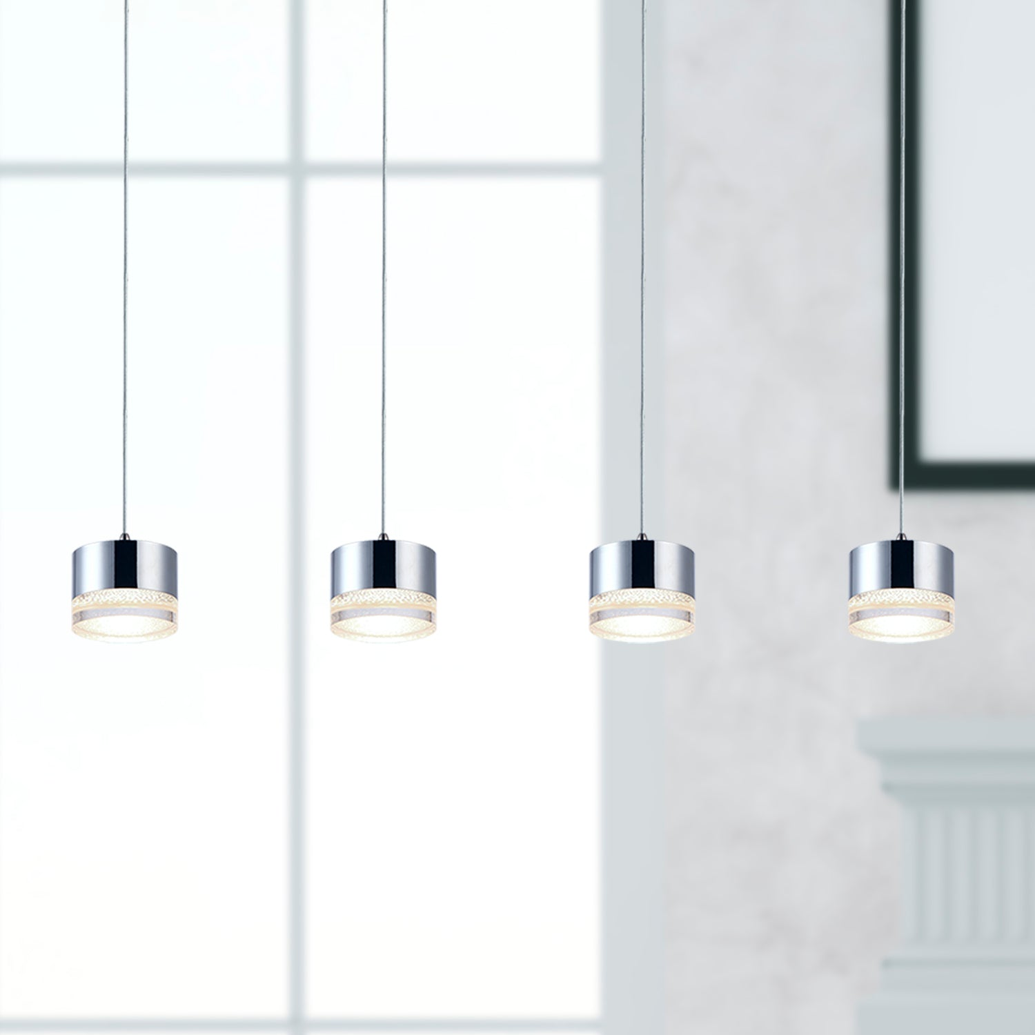Jupiter 4-light LED mini pendant