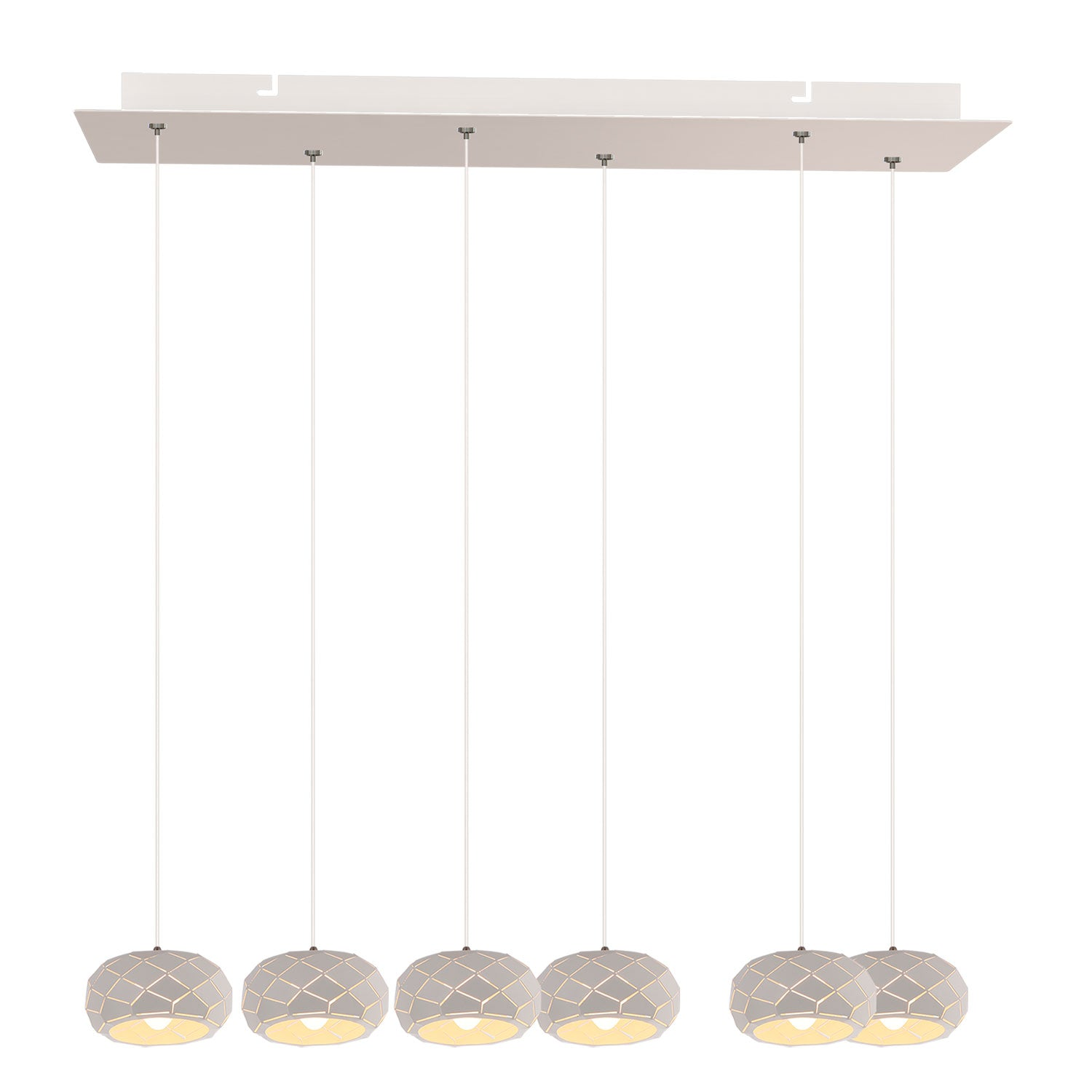 Crust 6-light LED mini pendant