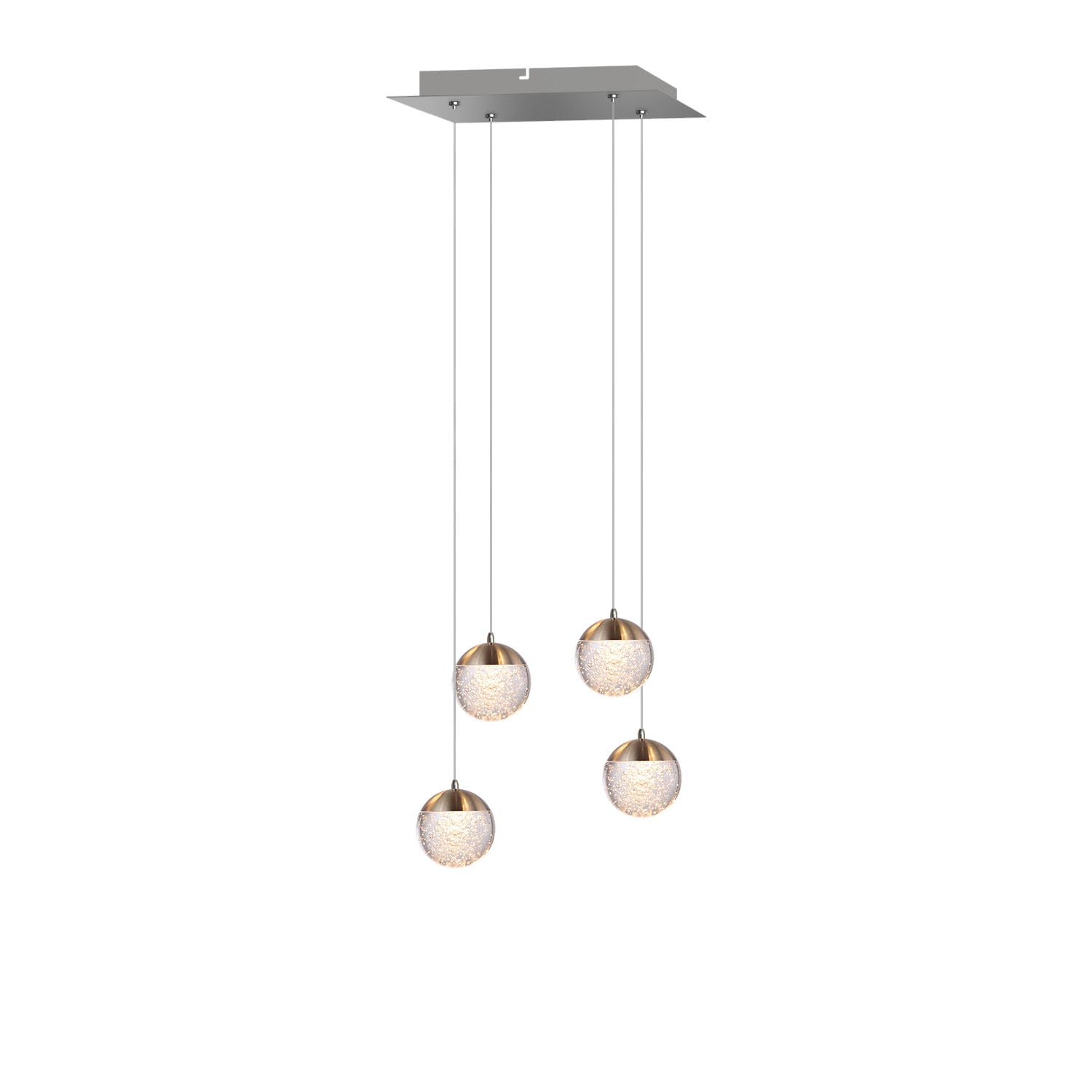 Galaxy 4-light LED mini pendant