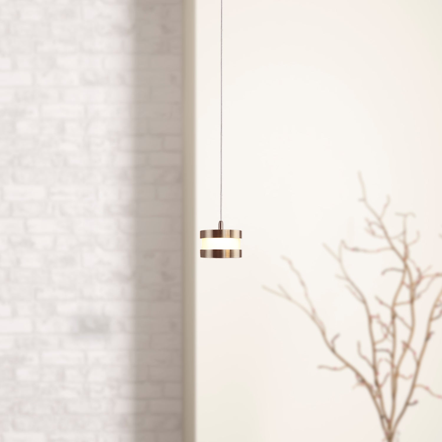 Mercury 1-light LED mini pendant