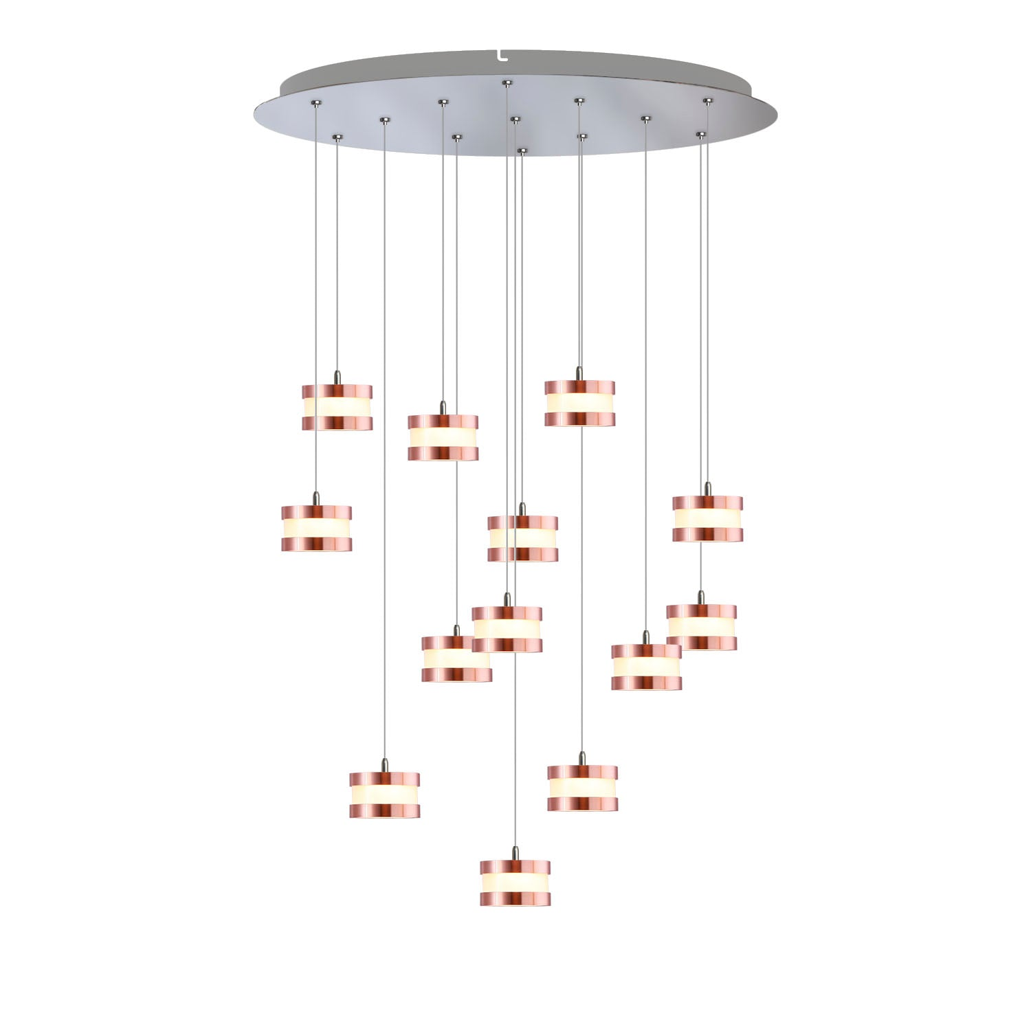 Mercury 13-light LED mini pendant