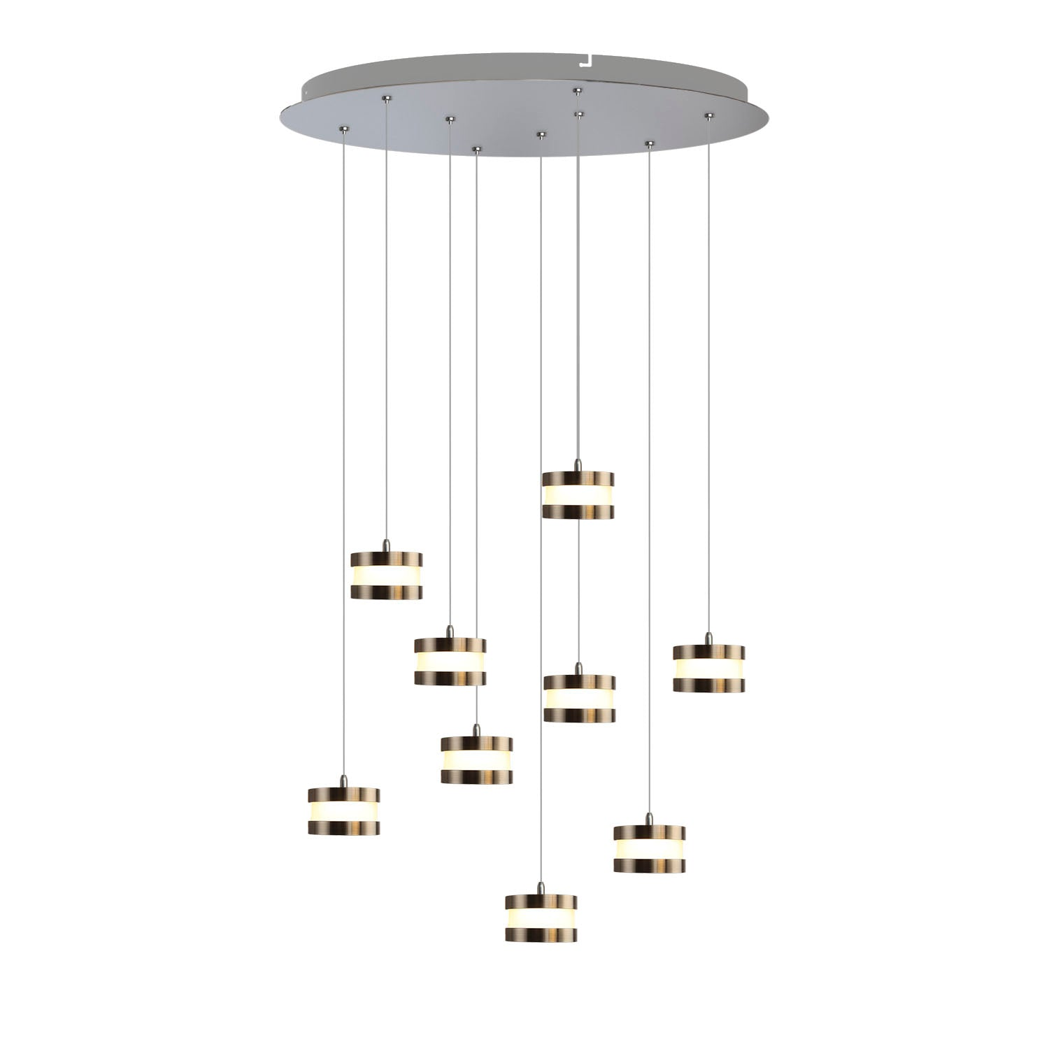 Mercury 9-light LED mini pendant