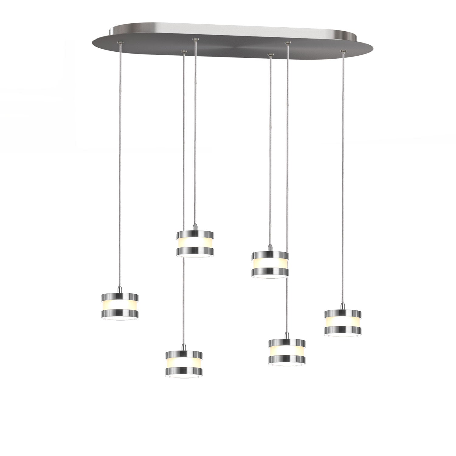 Mercury 6-light LED mini pendant