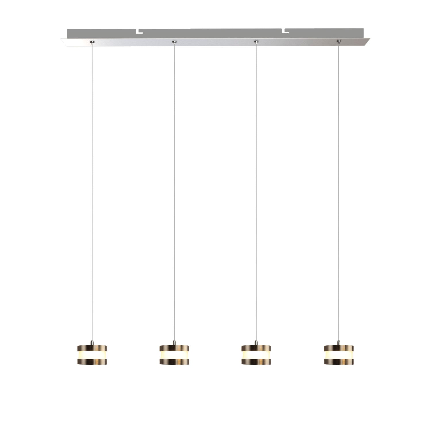 Mercury 4-light LED mini pendant
