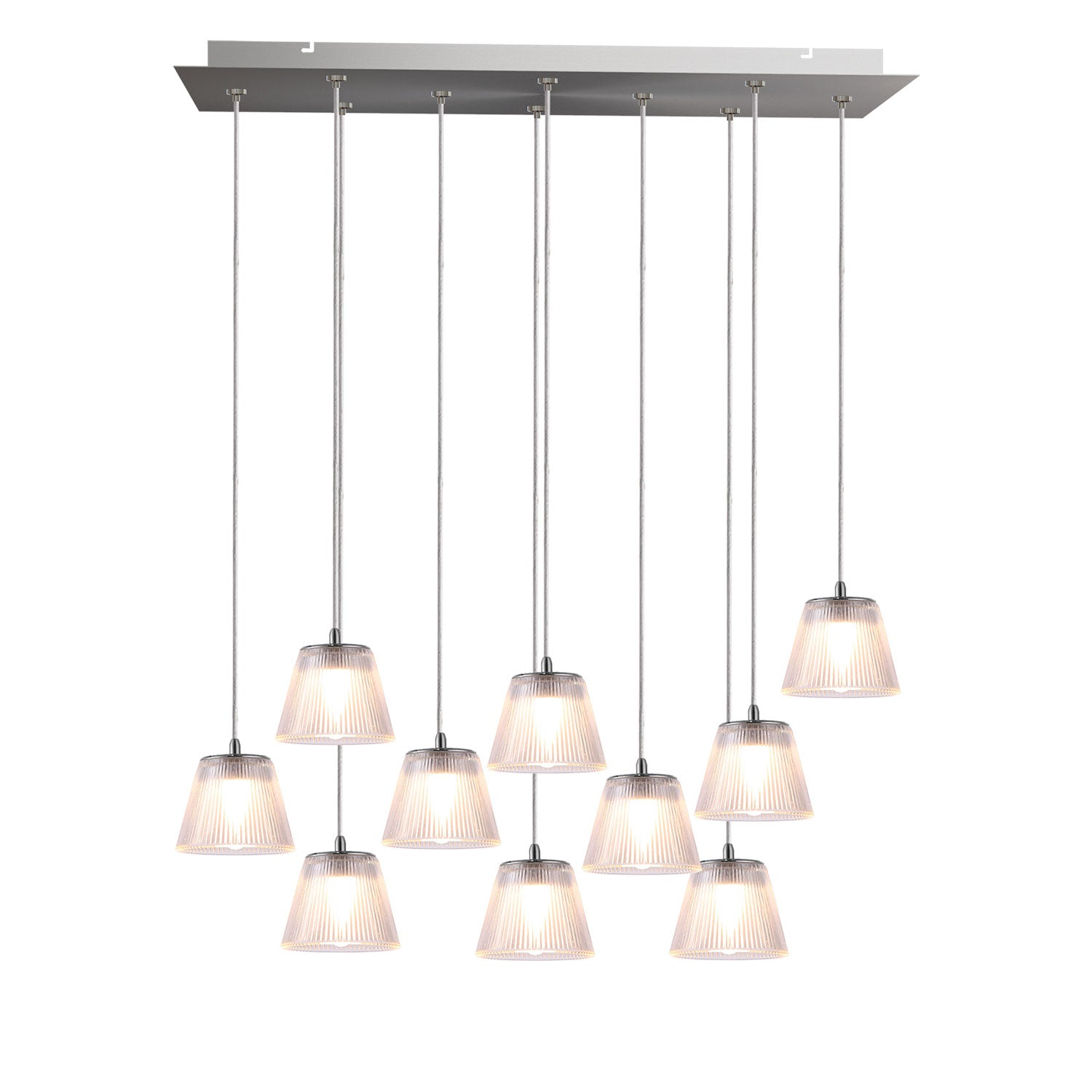 Unique LED modular pendants system. The only 100% modular LED lighting concept, wide selection of canopies, modular lighting, unique lighting fixtures for interior design, kitchen island, living room lighting.