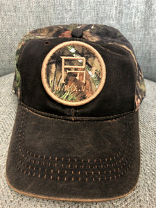 Camo Oak Tree Pretoria Fields Baseball Cap with Patch