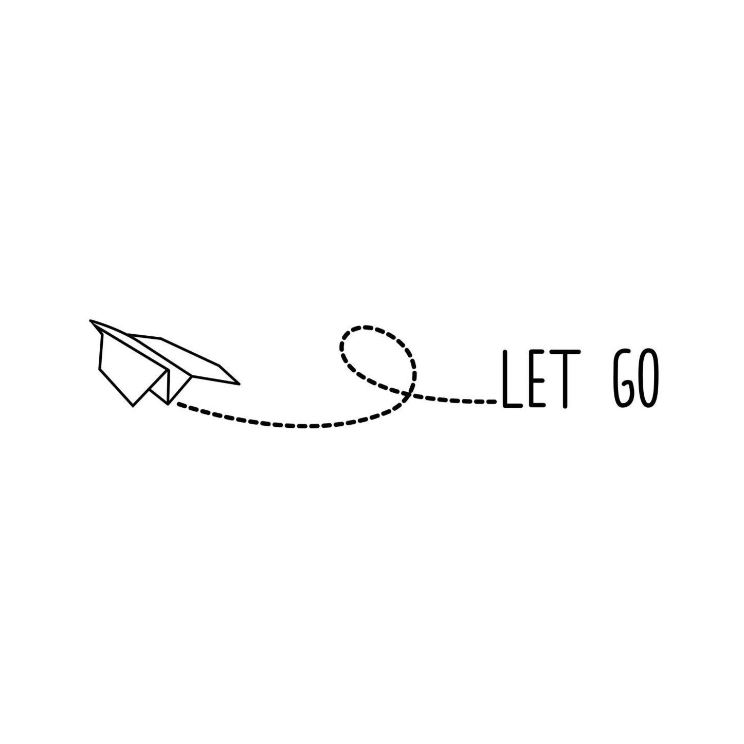 let go let go temporary tattoo momentary ink. Black Bedroom Furniture Sets. Home Design Ideas