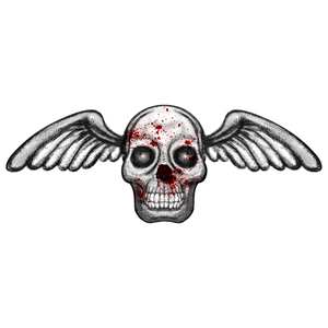 Angel of Death Halloween Temporary Tattoo