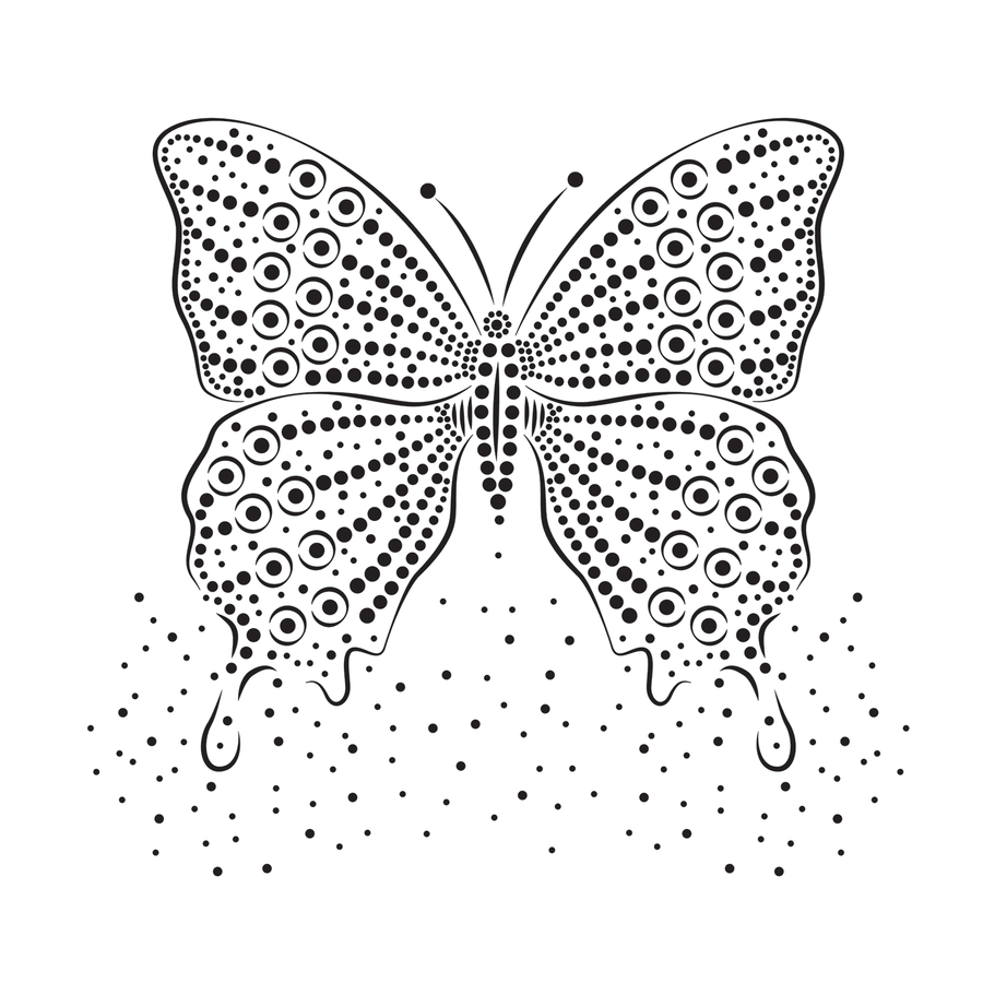 Dotwork Butterfly
