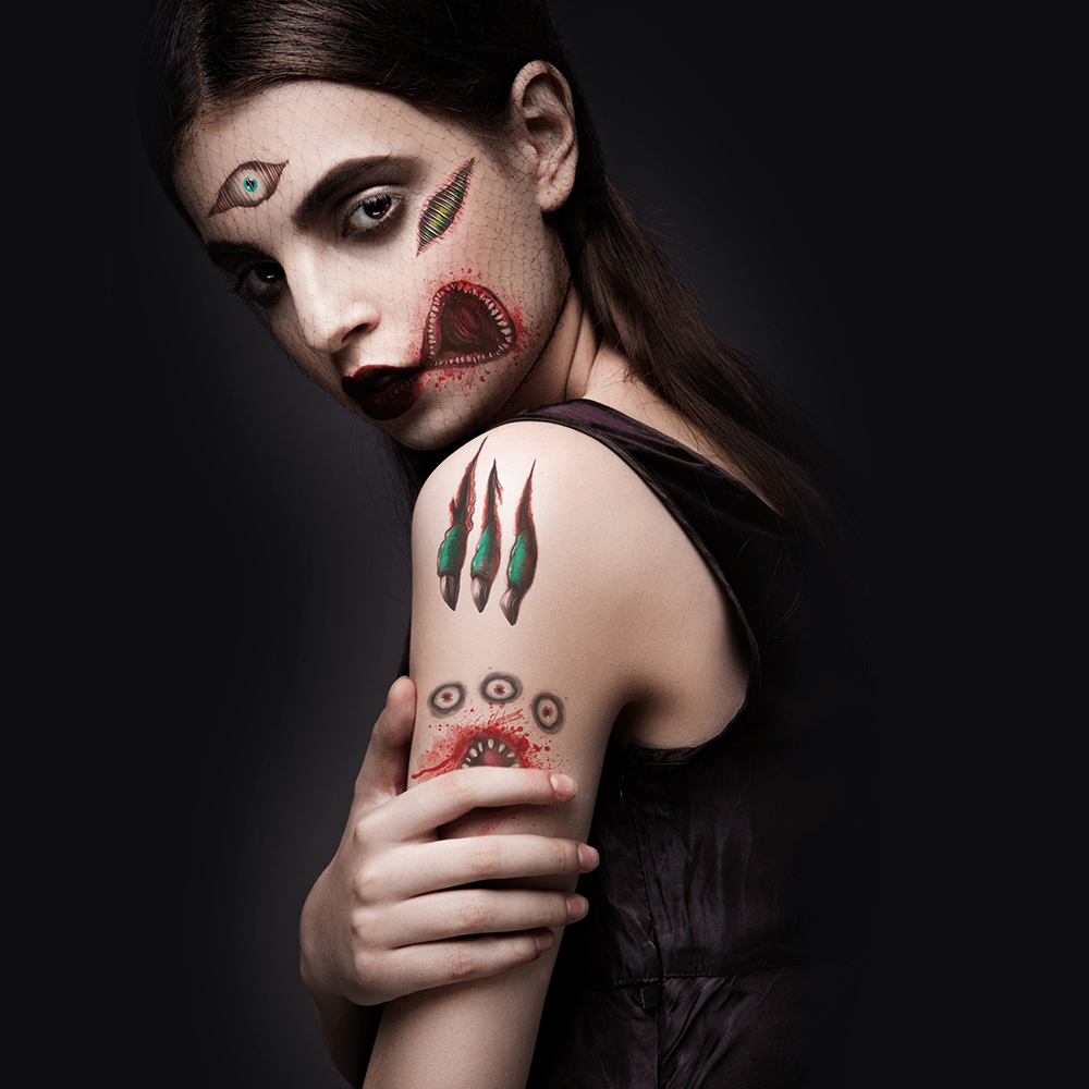 Temporary Tattoo Ink: Halloween Collection
