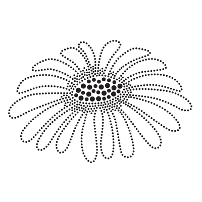 Dotwork Sunflower