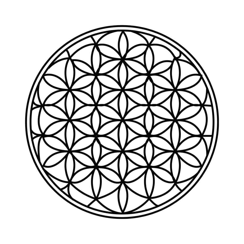 Flower Of Life Tattoo: Flower Of Life Temporary Tattoo