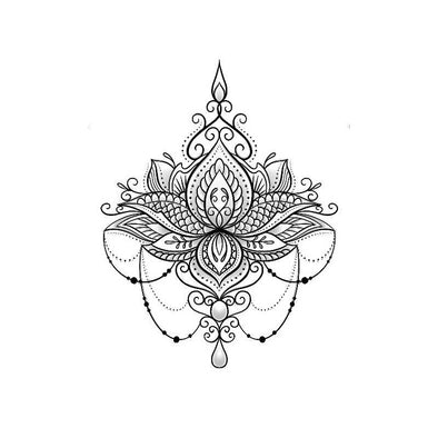 Ornate Lotus