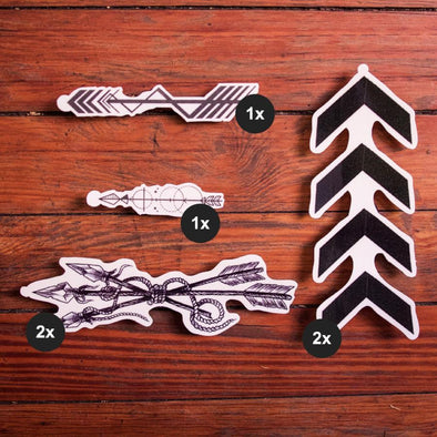 Lead the Way – Arrow Tattoo Collection