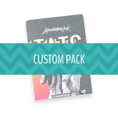 Custom Pack - Temporary Tattoos
