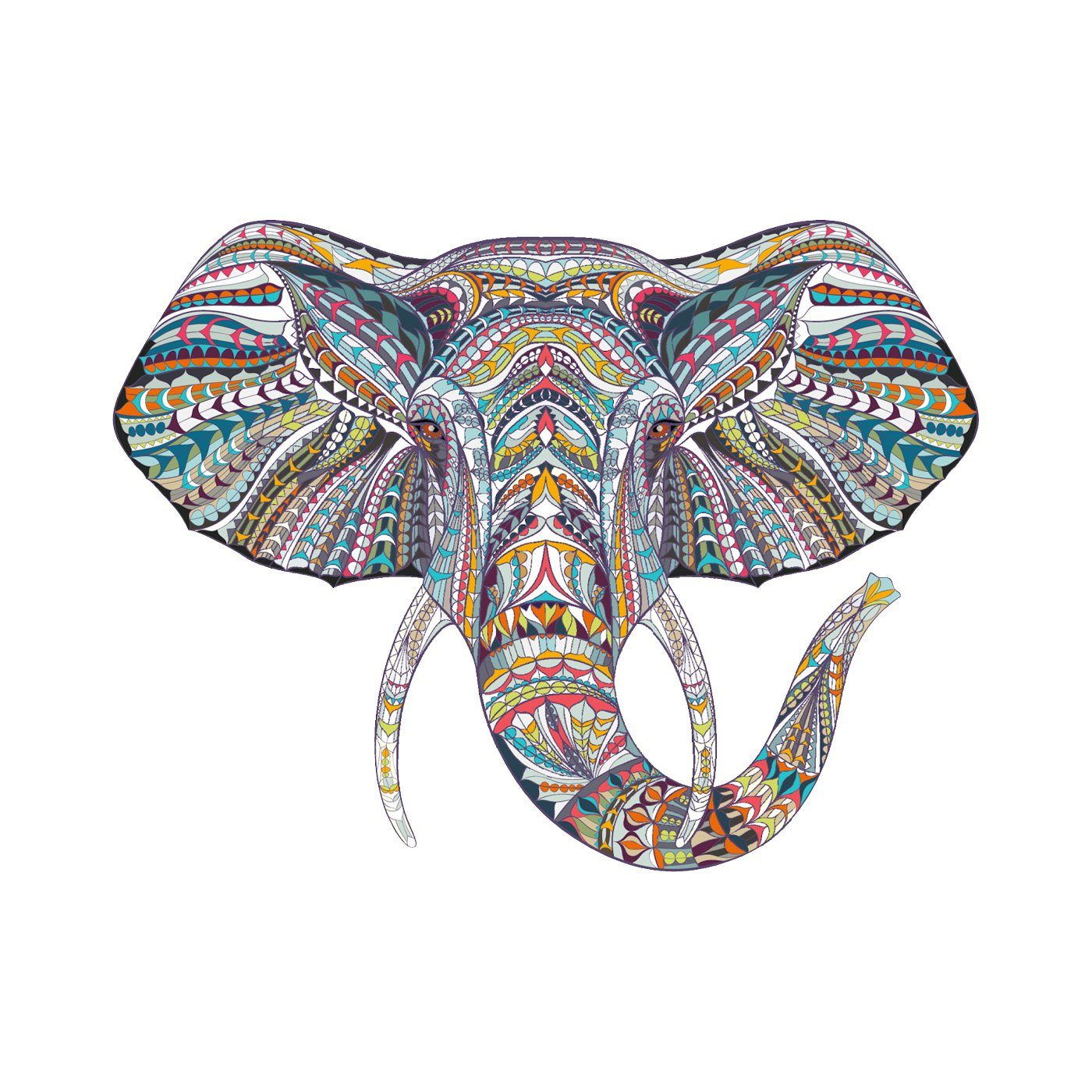 Elephants Never Forget Elephant Temporary Tattoo