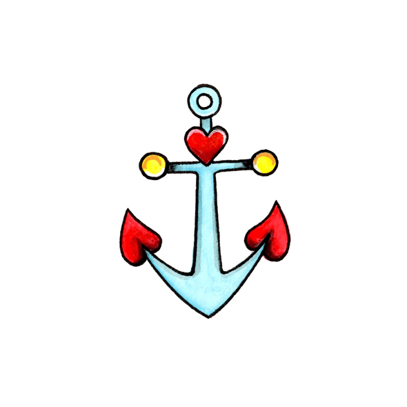 Cartoon Anchor