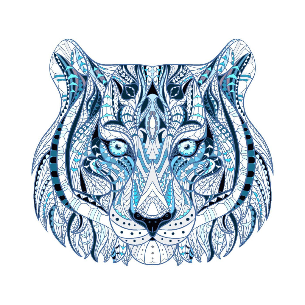 Ice Tiger - Ice Tiger Temporary Tattoo | Momentary Ink