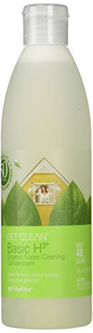 sk - Basic H2 Organic Super Cleaning Concentrate 16oz 473mL Makes 48 Gallons