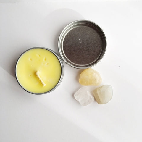 bn - Manifest ~ Soy Intention Candle, Essential Oil